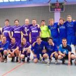 Sieger und Verlierer beim spannenden Fußballturnier der JU Langenfeld